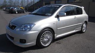 Review: 2006 Toyota Corolla T Sport Compressor (E120)