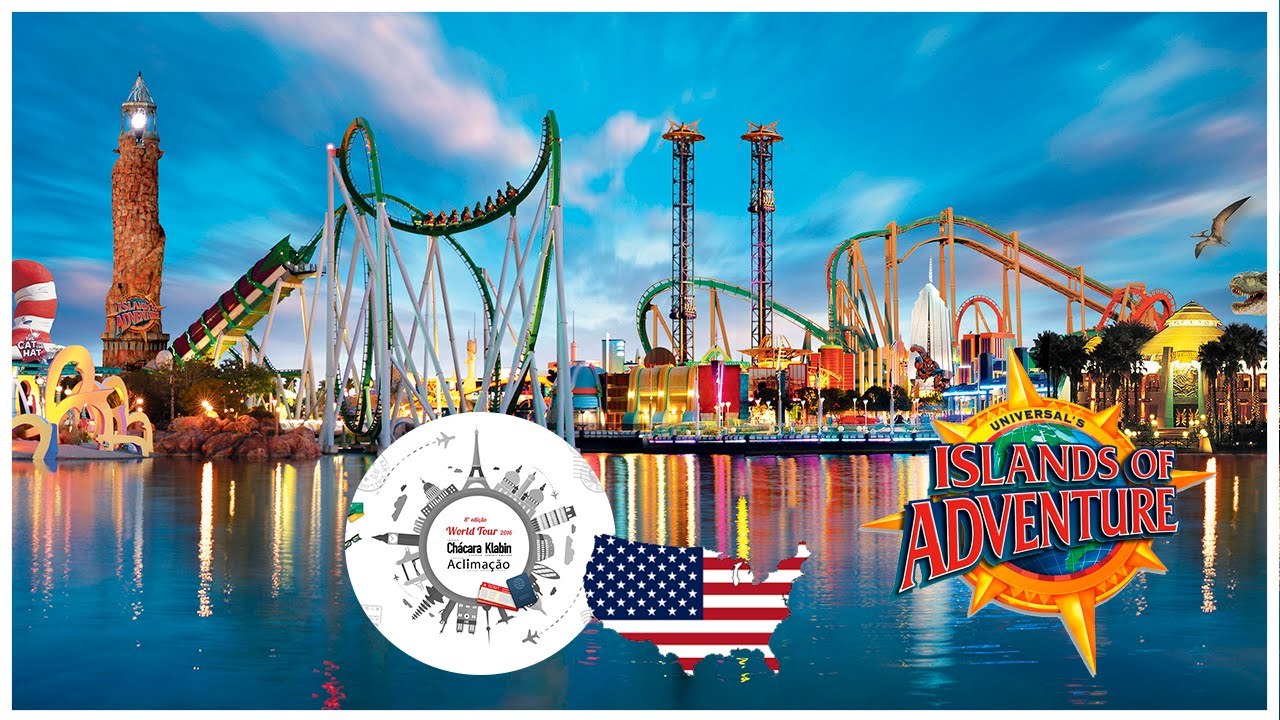 Islands of Adventure Universal Studios 2016 (HD) - World Tour 2016 ...