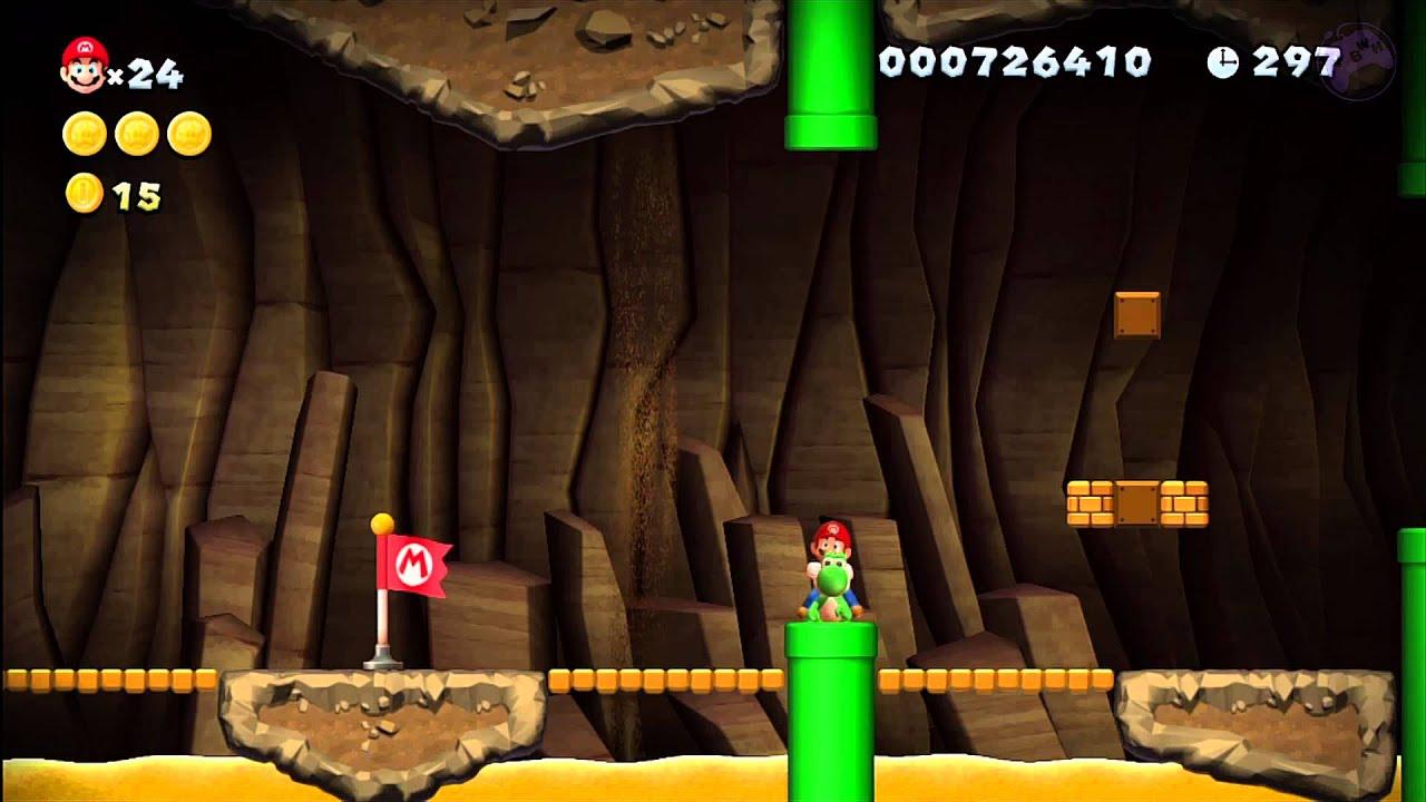 New Super Mario Bros U Star Coins Layer Cake Desert
