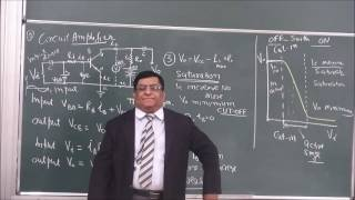 PHY XII-14-16 Transistor amplifier (2016)Pradeep Kshetrapal Physics channel