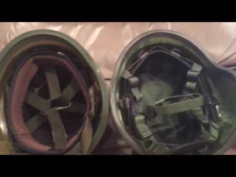 American composite helmet history and comparison