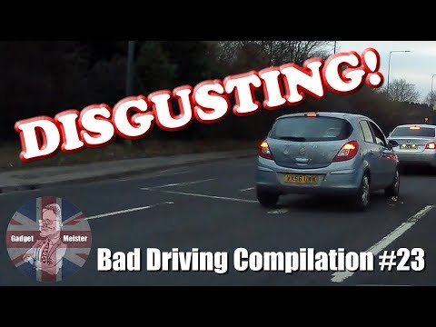 Bad Drivers UK Dash Cam Compilation #23