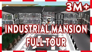 ROBLOX | Welcome To Bloxburg: 3 MILLION INDUSTRIAL MANSION (Full Tour)