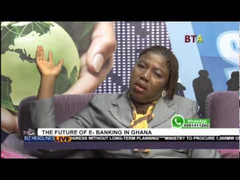 The Future Of E Banking With Hilda Irene Nkansah On Business Africa Live 1