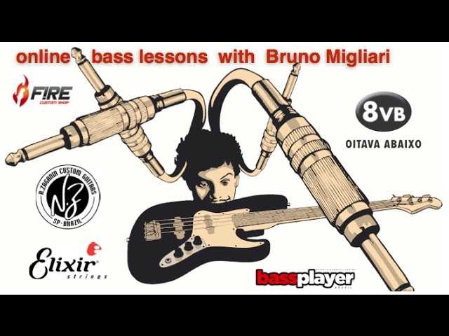 Online Bass Lessons with Bruno Migliari