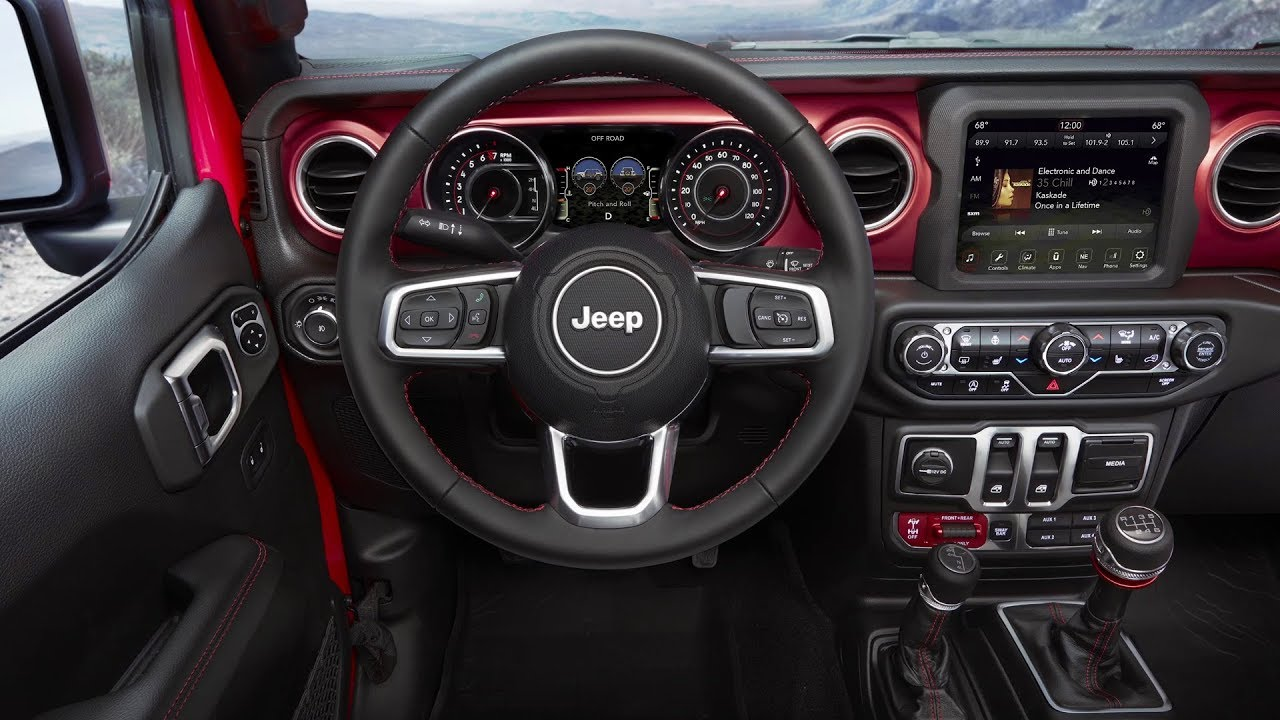 2018 Jeep Wrangler Unlimited Rubicon Interior