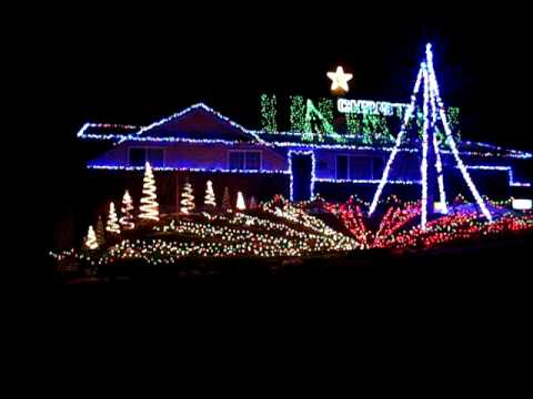 The best christmas lights ever! - YouTube