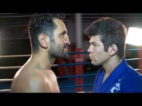 Muay Thai vs Brazilian Jiu-Jitsu | Real contact hits (Sparring )