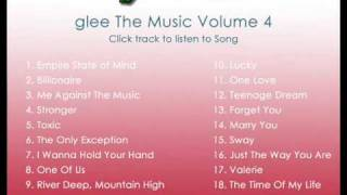 Glee Empire State of Mind Cast Version with Lyrics from Volume 4