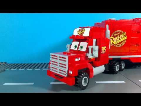 LEGO Cars 2 Mack's team truck