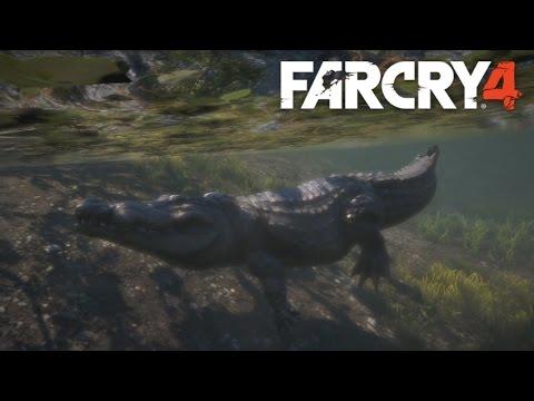 Far Cry 4 - Crocodile Attack HD - YouTube