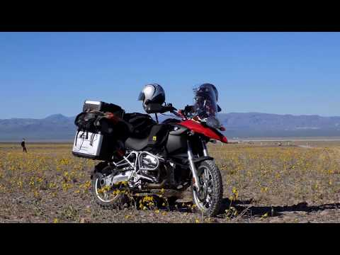 Motorcycle ADV - Denver to Death Valley Ride March 2016 Super Bloom