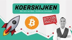 Bitcoin Analyse: 'BTC stijgt 12% en stond boven $10.000! Wat nu?'