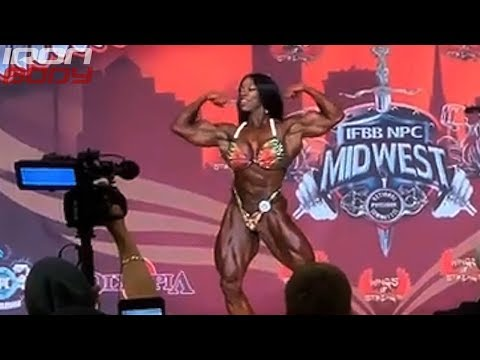 "2019 Omaha Pro Final Posing ""Margie Marvelous"" Women's Bodybuilding"