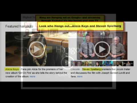Global Hangout Presentation - A Review From The Inside of Google+ Hangouts