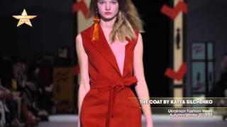 Показ    THE COAT BY KATYA SILCHENKO, Ukrainian Fashion Week,  Осень Зима 2016 17