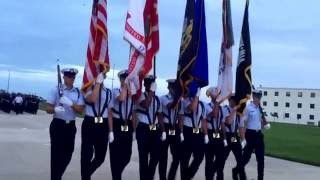US Coast Guard TRACEN Cape May Sunset Parade 29MAY2016