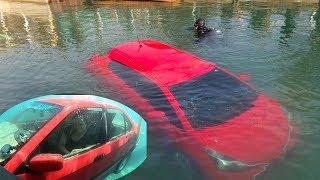 Yên tâm để xe chạy theo ứng dụng GPS cô chủ được vé bơi miễn phí