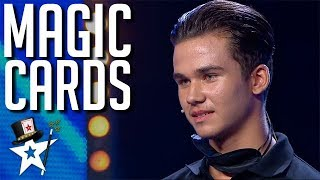 Young Magician SHOCKS Judges With Deck Of Cards on Spain's Got Talent | Magicians Got Talent