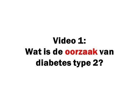 Wat is de oorzaak van diabetes type2  video1