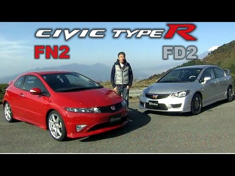 [ENG CC] Civic Type R FN2 Vs FD2 Winding Roads Impression 2010