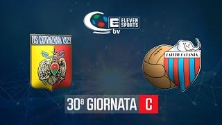 Catanzaro - Catania 1-2 Highlights