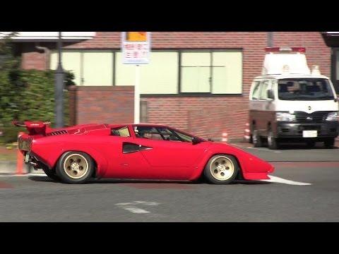 Lamborghini Countach LP5000QV Loud Exhaust Sound
