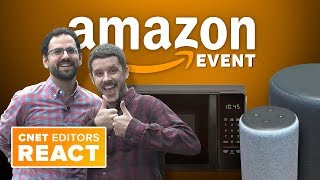 Amazon Echo event: CNET editors react