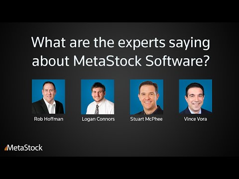 What the experts are saying about MetaStock