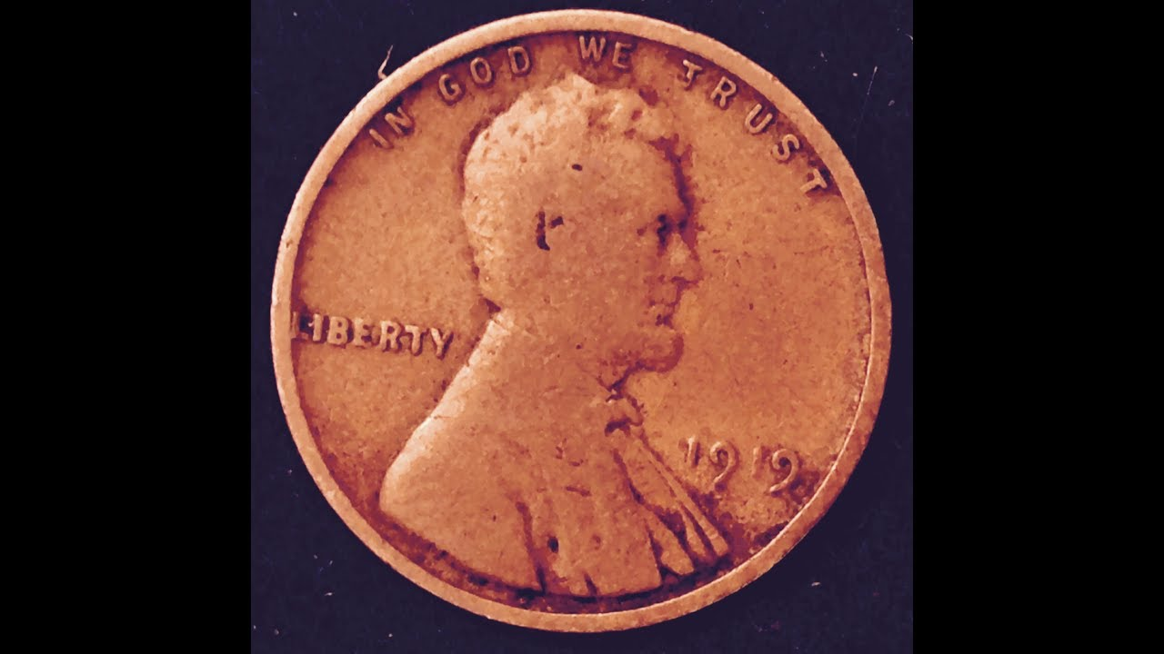 1919 Wheat Penny (Highest Mintage Prior To 1940)