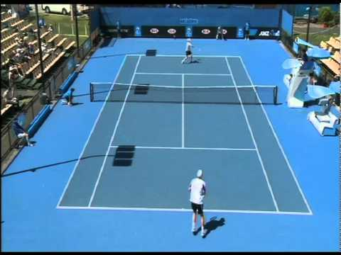 JP Smith v Chris Guccione highlights: Australian Open Play-off 2012