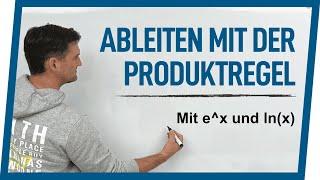 Ableitung Produktregel mit e^x und ln(x)   Mathe by Daniel Jung
