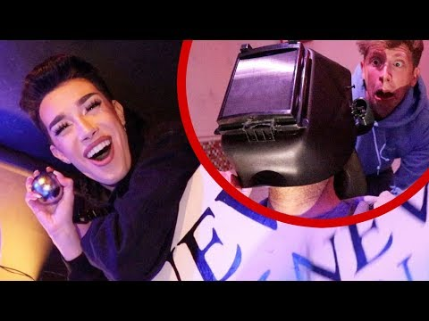 LOCKED IN A ROOM WITH JAMES CHARLES!!
