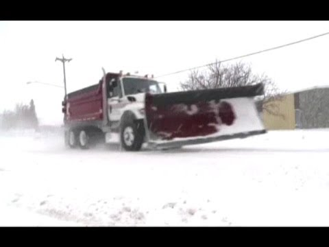 USA SNOW (Arctic front brings snow and icy weather from Rockies to Great Lakes)