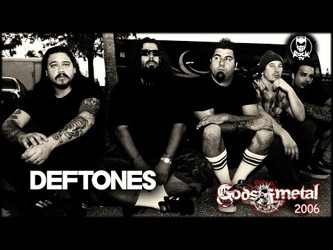 Deftones - Gods Of Metal 2006 (VER 2 - RockTV Italy) [LIVE & INTERVIEW]