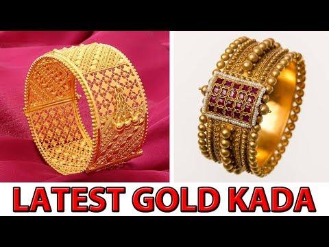 LATEST & BEAUTIFUL GOLD BANGLES & KADA DESIGNS FOR LADIES & WEDDING