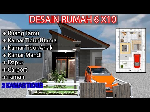desain-rumah-type-36/60-atap-miring-terbaru-2020