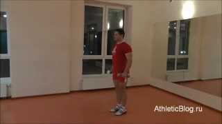 Разведение рук с гантелями в стороны стоя. Техника выполнения упражнения. Обучающее видео(Как быстро НАКАЧАТЬСЯ ГАНТЕЛЯМИ дома и НАБРАТЬ МЫШЕЧНУЮ МАССУ: http://www.athleticblog.ru/?page_id=3901 Программа фитнес..., 2013-02-05T19:54:41.000Z)