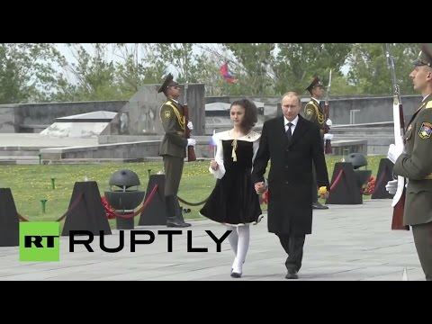 Armenia: Putin Joins Armenian Leader For 100th Mass-killings Anniversary