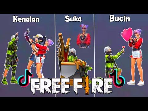 Tik Tok Free Fire Spesial Untuk Kalian Semua,Terbaru,Slowmo,Emote Senam,Viral