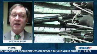 Newsmax Prime | Dr. John R. Lott, Jr. on Obama's potential executive order gun control measures
