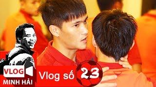 Vlog Minh Hải | Công Vinh, Tấn Tài và nguyên nhân HLV Miura cho dự bị