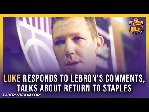 Lakers Pregame: Luke Walton Responds To LeBron's Comments & Talks About Return To Staples Center