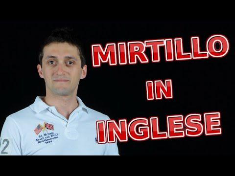 Mirtillo in inglese come si dice lezione 65 del miglior corso d 39 inglese online youtube - Come si dice bagno in inglese ...