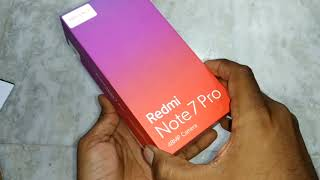 Redmi Note 7 Pro unboxing l black varient l