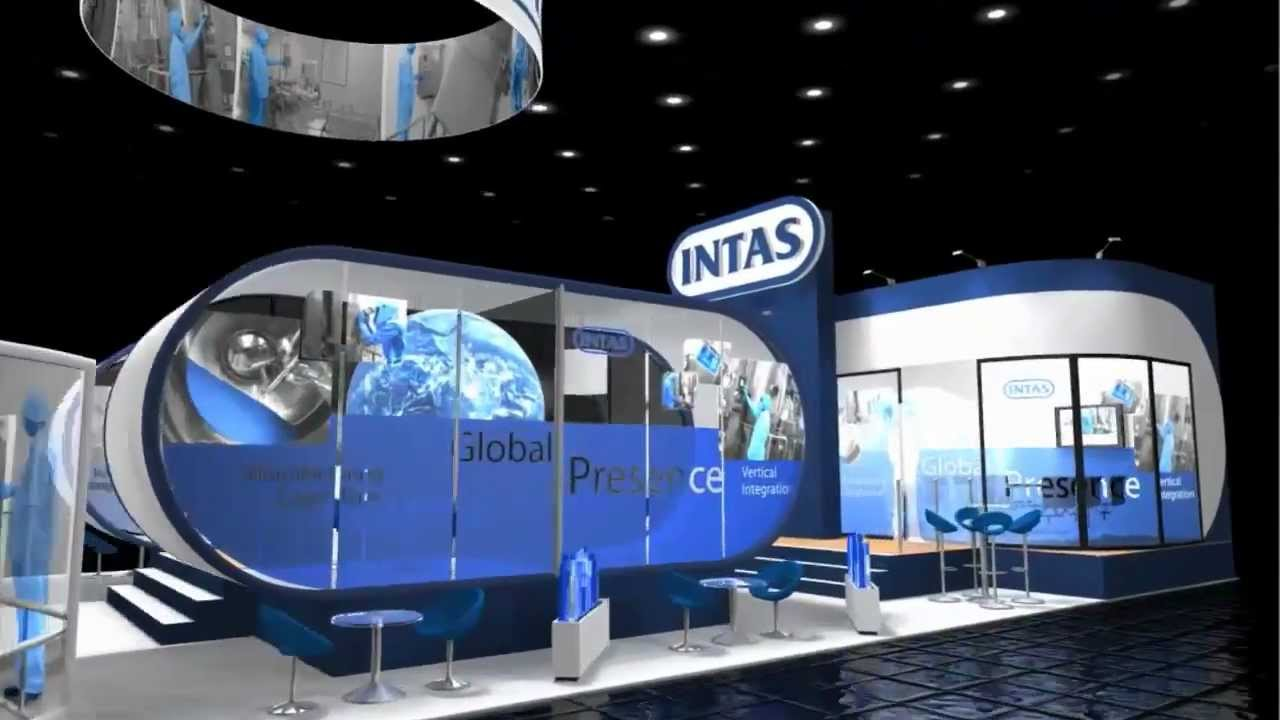 Modular Exhibition Stand Out : Intas modular exhibition stand cphi madrid youtube