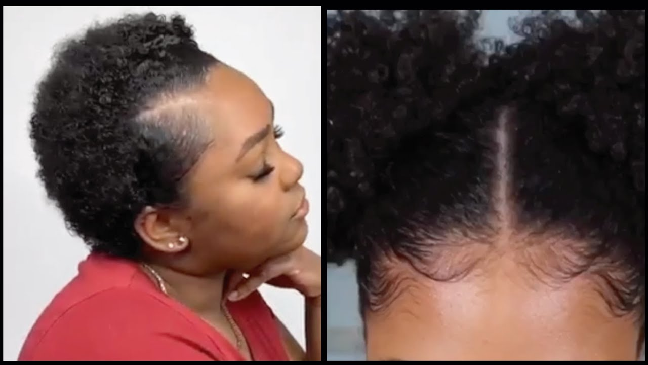 Try These Hairstyles If You Have Short To Medium Length Natural Hair Youtube