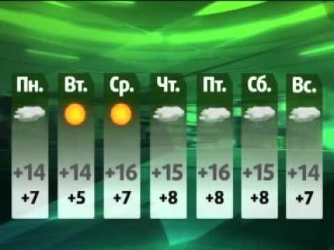 Погода на неделю (NotaBene 07.10.11)