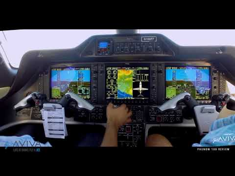 Aircraft Review: Embraer Phenom 100 (Taxi/Takeoff/Landing)