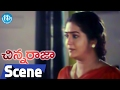 Chinna Raja Movie Scenes - Mohini Doubts Jayaram || Pandiarajan || Johnson